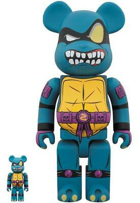 $320.54 • Buy BE@RBRICK SLASH 100%&400% Set Bearbrick Teenage Mutant Ninja Turtles Art Figure