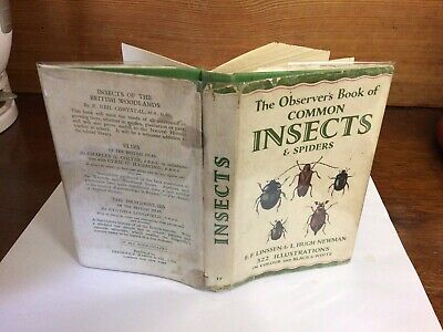 £9.99 • Buy Observers Book Of Common Insects & Spiders 1954