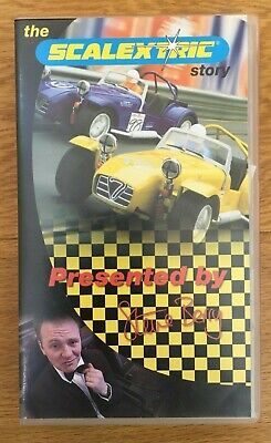 The Scalextric Story Caterham Seven Lotus Vhs Video  Steve Berry 2000 Rare  • 10£