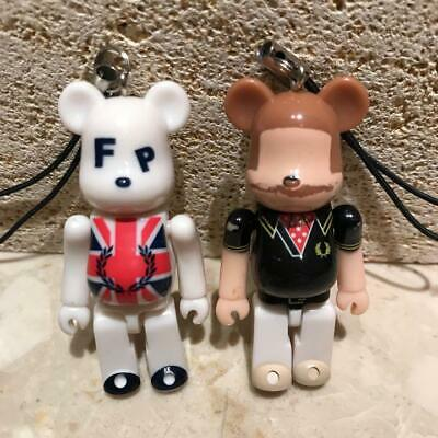 $17.66 • Buy Bearbrick Fred Perry Strap Key Ring