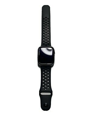 $ CDN217.15 • Buy Apple Watch Series 4 Nike+ 44 Mm Space Gray Aluminum Case With Anthracite/Black