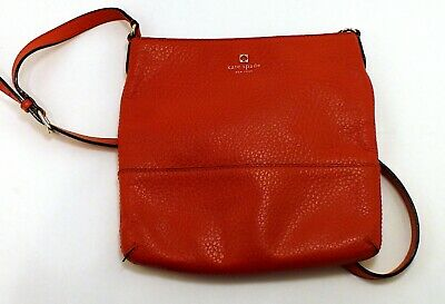 $ CDN59.99 • Buy Kate Spade Orange/Red Tote Purse Bag With Black/White Inner Lining