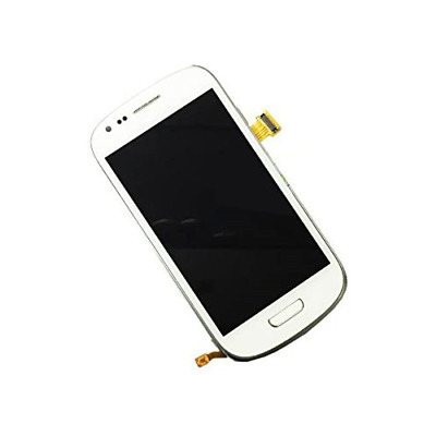 Samsung Galaxy S3 Mini I8190 LCD Screen Digitizer With Frame, White • 27.64£