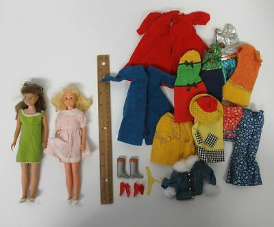 $ CDN11.33 • Buy Vintage 1960s Mattel Barbie Lot W/Skipper Skooter Dolls & 20 Clothes Etc Yz3873