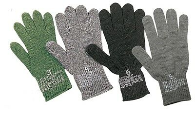 $7.99 • Buy Made In The USA Gloves WOOL Cold Weather D3A Military STYLE Glove Liner America