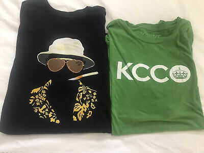 $14.99 • Buy Hunter S Thompson Shirt KCCO Chive Lot. Mens Large