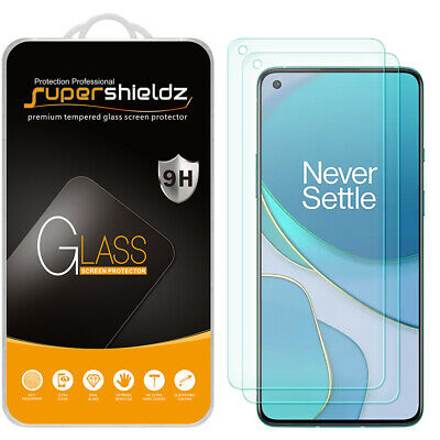 AU10.67 • Buy 2X Supershieldz Tempered Glass Screen Protector For OnePlus 8T / 8T Plus 5G
