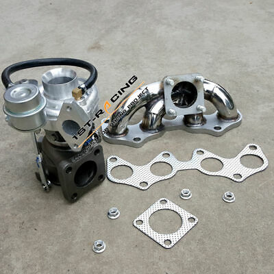 AU499.99 • Buy 17201-64190Turbo+Exhaust Manifold For Toyota Starlet EP82 EP85 EP91 Tercel 4EFTE