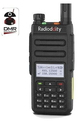 Radioddity GD77 Hand Held DUAL BAND DMR Radio • 98.99£
