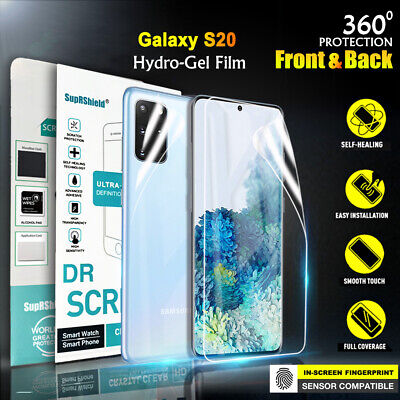 AU4.99 • Buy For Samsung Galaxy S20 S10 S8 S9 Plus Note 8 9 10+ 20 HYDROGEL Screen Protector
