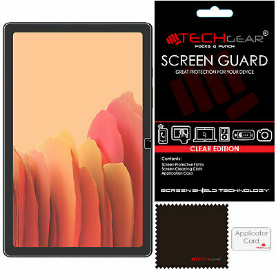 £2.95 • Buy 2 Pack TECHGEAR Screen Protectors For Samsung Galaxy Tab A7 10.4  SM-T500 /T505