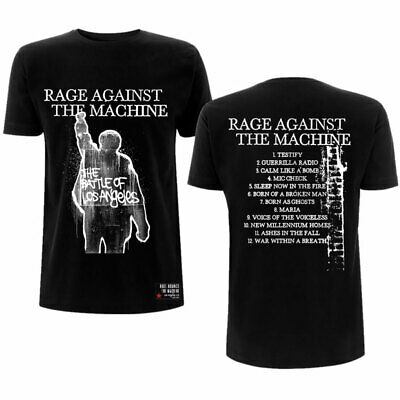 RAGE AGAINST THE MACHINE TEE: BOLA ALBUM COVER (BACK PRINT) T-shirt Official • 16.99£