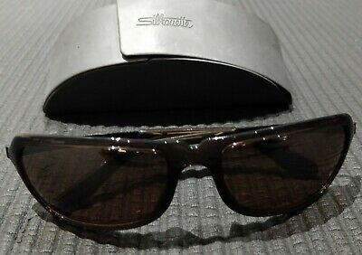 £95 • Buy Black Silhouette Large Sunglasses With Original Case - Good Condition
