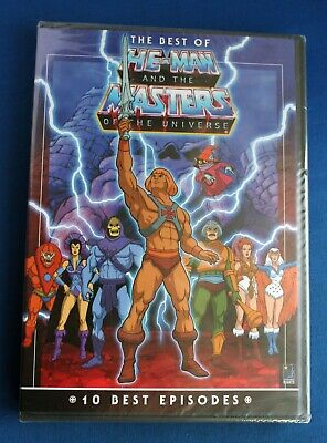 $22 • Buy The Best Of He-Man And The Masters Of The Universe - DVD!!!
