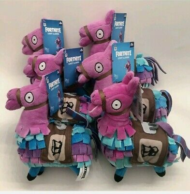 """$ CDN40.08 • Buy Lot Of 6 Fortnite 7"""" Loot Llama Fabric Plush Toy By Epic Games Officially Licens"""