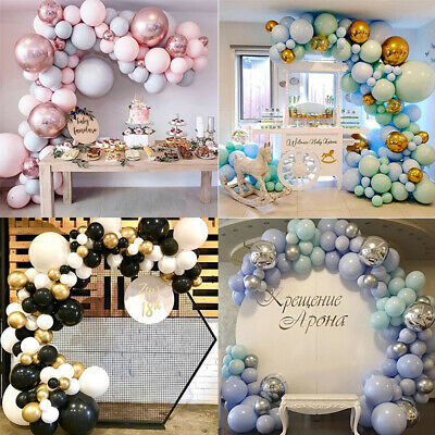 $16.85 • Buy 169PCS Latex Balloon Arch Kit Garland Wedding Baby Show Birthday Party Decor