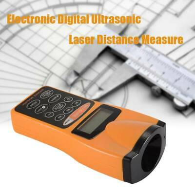 Electronic Digital Ultrasonic Distance Measure Meter Measure Tape 1.5ft To 60ft • 12.49£