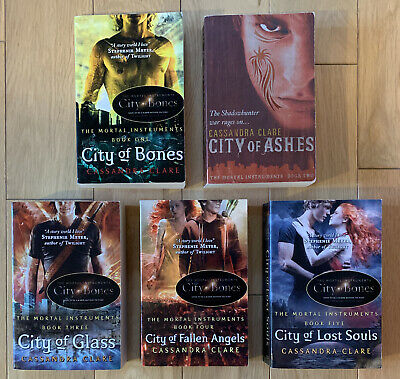 The Mortal Instruments By Cassandra Clare - Books 1-5 • 7.50£