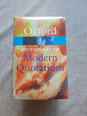 £18.99 • Buy Oxford Dictionary Of Quotations 4 Volumes Bundle New And Sealed