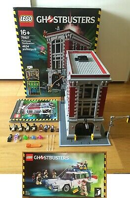 🔹COMPLETE🔹Lego Ghostbusters 75827 Firehouse & 21108 Ecto-1 Bundle🔹EXCELLENT🔹 • 599.95£