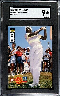 $49.50 • Buy 1994-95 Upper Deck Collector's Ch. Michael Jordan #204 Golf, 9 Mint, SGC