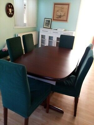 SKOVBY Dining Table With 6 Chairs  • 220£
