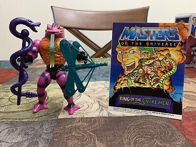$9.99 • Buy Masters Of The Universe Vintage Figure TUNG LASHOR 100% Complete W/comic He-Man