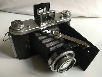VINTAGE ENSIGN SELFIX 820, 105mm LENS, 120 FILM, FOLDING CAMERA (1940's-50's) • 29£
