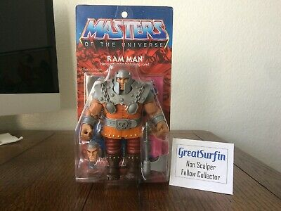 $20.50 • Buy MOTU Masters Of The Universe Classics Ultimate Ram Man MOSC