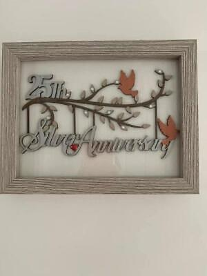 Wedding Anniversary Framed Plaques • 18£