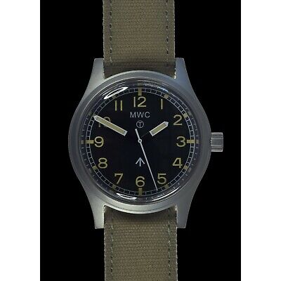 MWC 1940/60s Retro Pattern Military Watch Automatic , G10 NEW Boxed UK Seller • 199£