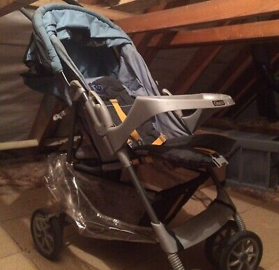 Graco Click Connect Travel System Stroller, Seat And Car Base • 35£