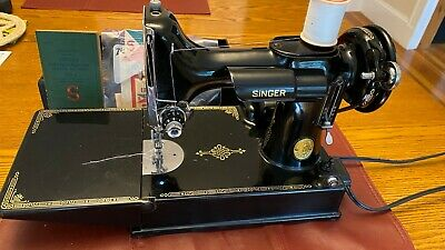 $720 • Buy Vintage Singer Featherweight Sewing Machine Model 221 In Excellent Condition