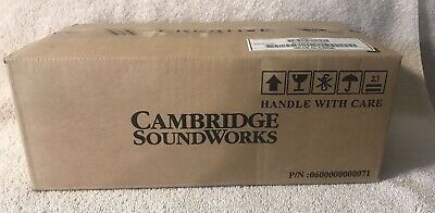 NEW IN BOX CAMBRIDGE SOUNDWORKS COMPUTER SPEAKERS GCS300 White • 14.30£