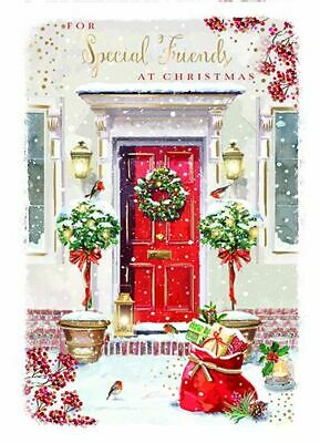 Christmas Card - Special Friends - Xmas Welcome - At Home Ling Design Quality • 2.50£