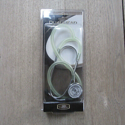 NCD Medical - Dual Head Stethoscope - Model No. S108 - Frosted Seabreeze. • 12.99£