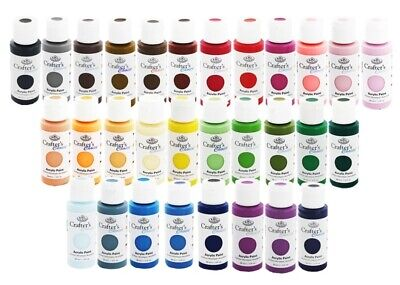 £3.90 • Buy Royal Langnickel Crafters Choice Arcylic Art Paint Painting ( 60 COLOURS )  59ml
