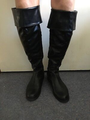 Size 5 Red Herring Black Knee High Boots  • 10.80£