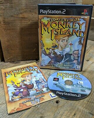Escape From Monkey Island (PS2) Retro Point & Click Adventure ~ PAL ~ Complete • 5.75£