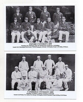 Postcard J F Sporting Collectibles - Cricket Oxford V Cambridge 1899 • 2.50£