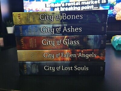 The Mortal Instruments Book Bundle (1 To 5) - Cassandra Clare • 5£