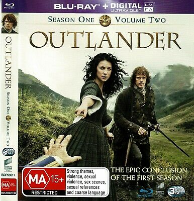 AU6.50 • Buy Outlander        Season One  -  Volume 2     Region B   (like New)  Blu-ray