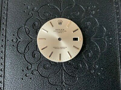 $ CDN317.13 • Buy Authentic Rolex DateJust Silver Dial For Rolex 34MM Model 15000 15101 15200