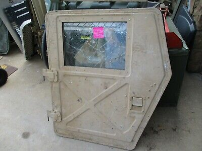 $599 • Buy Used Driver Rear X-Door For UPARMOR HMMWV M1151, *WILL NOT FIT M998* A