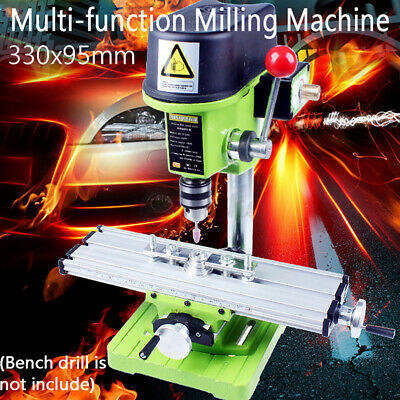 UK Precision Multifunction Milling Machine Bench Drill Vise Fixture Work Table • 22.43£