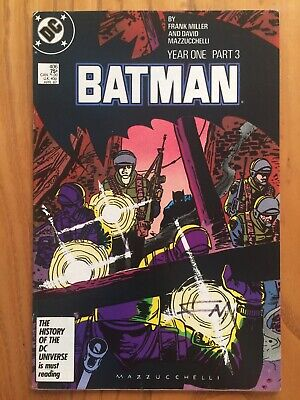 Batman Issue 406 Year One Part 3 1986 Signed By Frank Miller • 25£
