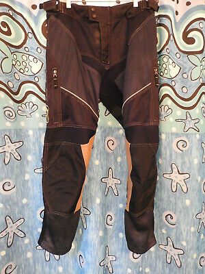 $ CDN194.73 • Buy Klim Dakar In The Boot Pant Size 34 Black - Gently Used Condition; 32  Inseam