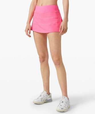 $ CDN107.84 • Buy NWT Lululemon Pace Rival Skirt *TALL~SIZE:2,4,6.8.10.12~ Dark Prism Pink
