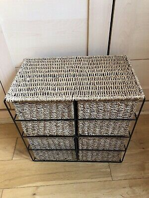 Rattan 4 Drawer Storage  • 28£
