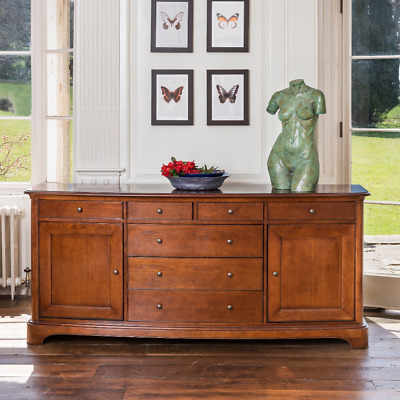 New Large Wide Willis & Gambier Lille Cherry Sideboard *Ex John Lewis*  • 725£